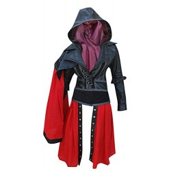 Assassin's Creed Syndicate Evie Frye Leather Jacket Costume
