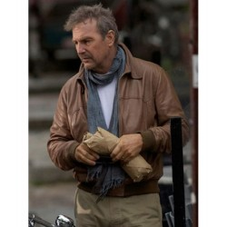 3 Days To Kill Kevin Costner (Ethan Renner) Leather Jacket